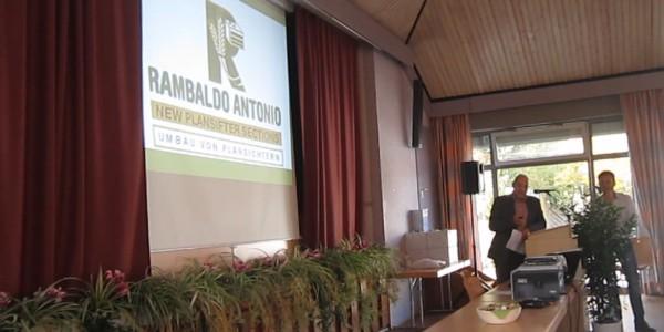Rambaldo Antonio conferenza a Volkach 2015